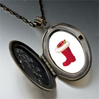 Necklace & Pendants - christmas ornament boot pendant necklace Image.