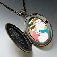 Necklace & Pendants - pendants making christmas gifts snowman pendant necklace Image.