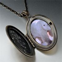 Necklace & Pendants - white polar bear pendant necklace Image.