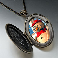 Necklace & Pendants - pendants christmas gifts snowman in pendant necklace Image.