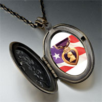Necklace & Pendants - american flag purple heart pendant necklace Image.