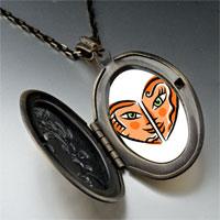 Necklace & Pendants - smiling sexy heart pendant necklace Image.