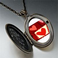 Necklace & Pendants - paper cutout hearts pendant necklace Image.