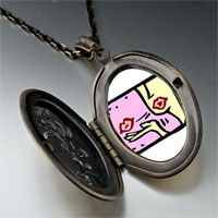 Necklace & Pendants - kiss love pendant necklace Image.