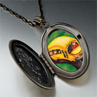 Necklace & Pendants - yellow school bus photo pendant necklace Image.