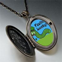 Necklace & Pendants - feeling lucky caterpiller pendant necklace Image.