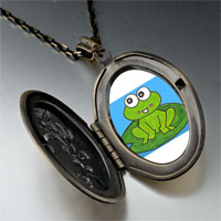 Necklace & Pendants - lovable frog by amber pendant necklace Image.