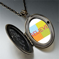 Necklace & Pendants - multicolored believe pendant necklace Image.