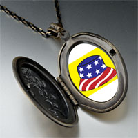Necklace & Pendants - patriotic american cap pendant necklace Image.