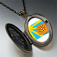 Necklace & Pendants - sunflower in sunlight pendant necklace Image.