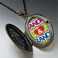 Necklace & Pendants - love grandpa &  grandma pendant necklace Image.