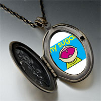 Necklace & Pendants - happy kid sugar pendant necklace Image.