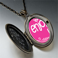 Necklace & Pendants - enjoy life hearts pendant necklace Image.
