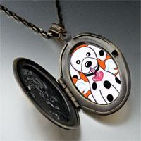 Necklace & Pendants - dalmatian dog heaven pendant necklace Image.