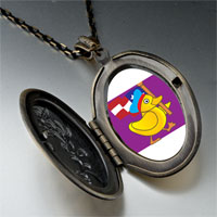 Necklace & Pendants - american duck walking pendant necklace Image.