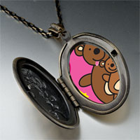 Necklace & Pendants - teddy bear dad pendant necklace Image.