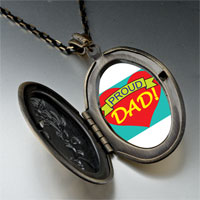 Necklace & Pendants - proud dad pendant necklace Image.