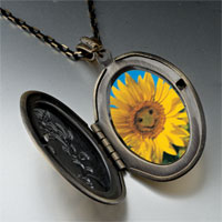 Necklace & Pendants - happy sunflower photo pendant necklace Image.