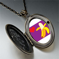 Necklace & Pendants - heart banana pendant necklace Image.