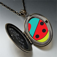 Necklace & Pendants - heart watermelon pendant necklace Image.