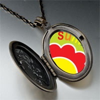 Necklace & Pendants - summer flower pendant necklace Image.