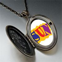 Necklace & Pendants - summertime sun pendant necklace Image.