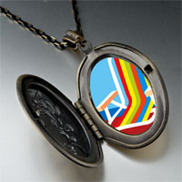 Necklace & Pendants - colorful beach chair pendant necklace Image.
