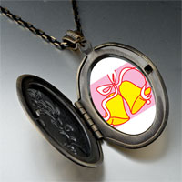 Necklace & Pendants - christmas jewelry wedding bells yellow pendant necklace Image.