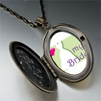 Necklace & Pendants - heart bride pendant necklace Image.