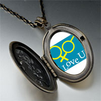 Necklace & Pendants - i love couple photo pendant necklace Image.