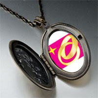 Necklace & Pendants - wedding ring golden pendant necklace Image.
