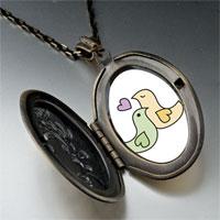 Necklace & Pendants - love doves pendant necklace Image.