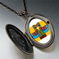 Necklace & Pendants - colorful bird sculpture pendant necklace Image.