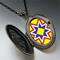 Necklace & Pendants - multicolored star pendant necklace Image.