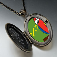 Necklace & Pendants - tio speaking parrot pendant necklace Image.