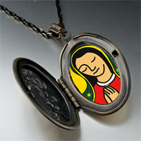 Necklace & Pendants - our lady guadalupe pendant necklace Image.
