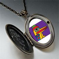 Necklace & Pendants - wooden bird craftwork pendant necklace Image.