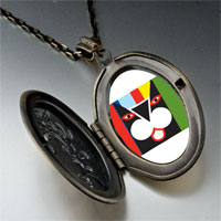 Necklace & Pendants - colorful artistic cat pendant necklace Image.