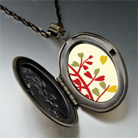 Necklace & Pendants - autumn fall tree pendant necklace Image.
