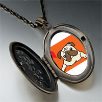 Necklace & Pendants - dog pendant necklace Image.