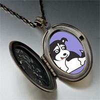 Necklace & Pendants - alaskan husky dog pendant necklace Image.