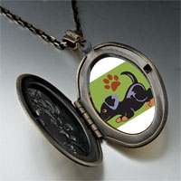 Necklace & Pendants - rottweiler black pendant necklace Image.