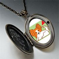 Necklace & Pendants - papillion dog pendant necklace Image.