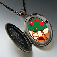Necklace & Pendants - apples on tree pendant necklace Image.