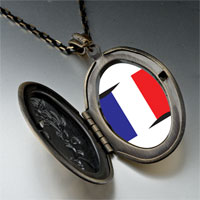 Necklace & Pendants - france flag pendant necklace Image.
