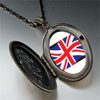 Necklace & Pendants - united kingdom flag pendant necklace Image.