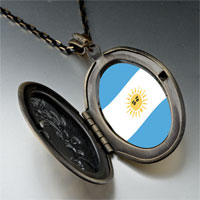 Necklace & Pendants - argentina flag pendant necklace Image.