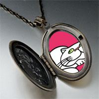 Necklace & Pendants - persian cat pendant necklace Image.