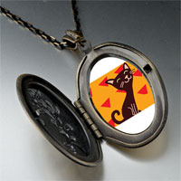 Necklace & Pendants - havana brown cat pendant necklace Image.