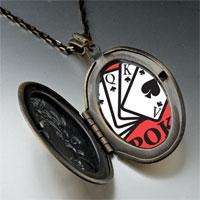 Necklace & Pendants - i love poker pendant necklace Image.